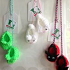 Crochet Shoes Hanging Decorations