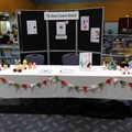 'TG Does Comic Relief' table and display