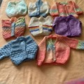 Pearl Crane of Collier Row Guild has been busy knitting for the Neonatal Unit at Queens Hospital in Romford during lockdown.