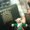TG Ted visited the House of Commons, spreading the word about Townswomen!